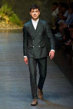 Défilé Dolce & Gabbana Homme Printemps-été 2014 Milan