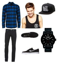 Untitled #17 by bruhitsbriannas on Polyvore featuring polyvore, Volcom, Paul Smith, NIKE, Nixon, Toni & Guy, men's fashion, menswear and clothing
