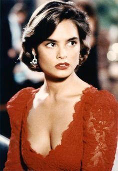 Talisa Soto as Lupe Lamora in License to Kill, 1989  As the beautiful girlfriend of Franz Sanchez, a powerful Latin American drug lord, she turns against him and helps Bond. Her dark eyes, bold brows, and red lips made Lamora quite the stunner.