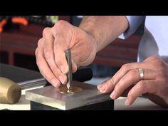 6mm joyas de metal estampado ponche de diseño Sello de metal Punch por Beadsmith clave