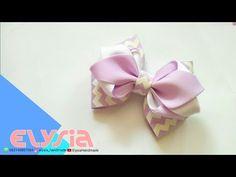 Beautiful Ribon Bow How To Make | DIY by Elysia Handmade - YouTube