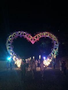 Amphitheatre Entrance - Woodford Folk Festival, Queensland Australia 2015/16