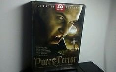 Pure Terror: 50 Movies (DVD, 2010, 12-Disc Set)