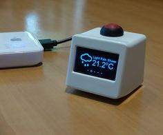 Hi and welcome to an instructable about a miniature weather station.The idea and much of the code is from a blog by Daniel Eichhorn at this web address, go check it out as he is into some cool stuff!http://blog.squix.ch/2015/12/esp8266-weather-station-new-version.htmlI have updated/changed the code for my use so that it works with a larger OLED with a different chipset (SH1106 vs SSD1306). I also added some new features and enhancements.First things first, (if yo...