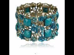 Bracelet cuff women retro copper floral lucite enamel bracelet rhinestone crystal wide cuff bracelet bangle bijoux de Arthandmadecrochet en Etsy