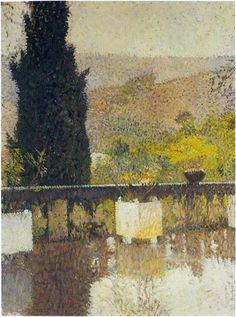 The Terrace - Henri Martin