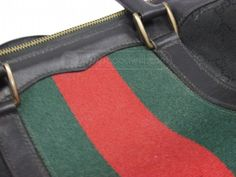 shopgoodwill.com: Gucci Italy Duffle Bag AUTHENTICATED