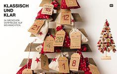 DIY Adventskalender mit Stickanhängern und selbstgenähten Säckchen #Rico Design #advent calendar #nähen #coudre #sewing #tissus #farbics #Stoffe #Adventskalender selber machen