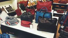 Holiday bag display