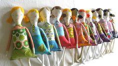 Girly doll CUSTOM ORDER by krakracraft on Etsy, $33.00