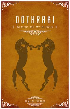 Dothraki- the a language from 'Game of Thrones' an HBO series based off of the trilogy 'A song of fire and ice' Casas Game Of Thrones, Arte Game Of Thrones, Valar Morghulis, Valar Dohaeris, Got Game, My Sun And Stars, Iron Throne, Mother Of Dragons, Fire And Ice