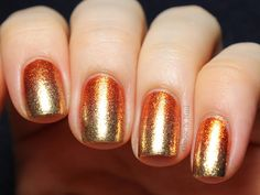 Globe & Nail: Foil Gradient with Liquid Palisade