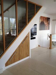 Verrière escalier - Mur Escalier Fermeture escalier - Escalier fond pièce - Chaleur escalier - cloison escalier