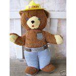 vintage plush pull string toys | eBay Image 1 VINTAGE SMOKEY BEAR TALKING PULL STRING PLUSH TOY -RARE