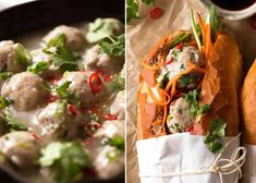 This Banh Mi recipe covers the truly authentic meats as well as how to make an exceptional Banh Mi just by going to your everyday grocery store! Chicken Loaf, Chicken Feed, Vietnamese Sandwich, Vietnamese Recipes, Banh Mi Recipe, Food Network Recipes, Cooking Recipes, Juicy Baked Chicken, Carrot And Coriander
