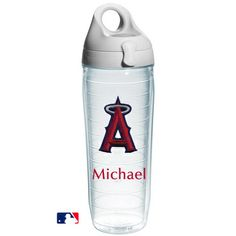 Los Angeles Angels Personalized Water Bottle