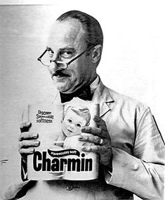 Please, don't squeeze the Charmin--Mr. Whipple