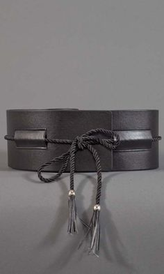 I think a wide obi belt would be great to accentuate waist with skirts or dresses. Wide Obi Belt - Black $19