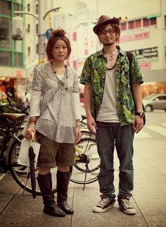 Japan  #street-fashion