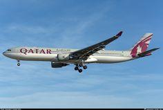 Qatar Airways Airbus A330-302 (registered A7-AED)