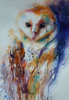 Watercolor art by Jean Haines (1)