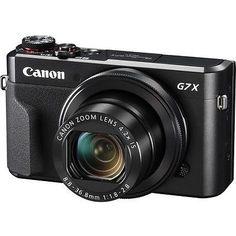 Canon PowerShot G7 X Mark II Digital Camera in Cameras & Photo, Digital Cameras | eBay #DigitalCameras