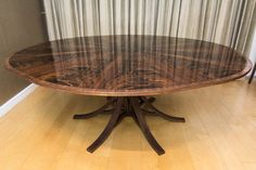 Johnson Furniture is a cabinet making business producing bespoke furniture specialising in expanding circular dining tables Expanding Round Table, Circular Dining Table, Expandable Dining Table, Cabinet Making, Bespoke Furniture, Interior Design, Room, Home Decor, Interiors