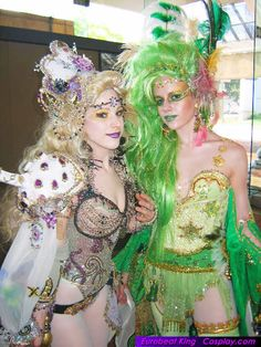 Jia Jem as Rydia and Limebarb as Rosa from Final Fantasy