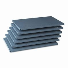 Tennsco 87-inch High 36-inch x 24-inch Industrial Steel Shelving