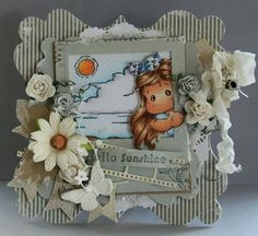 Dutch Doobadoo  Card Art Door Neline Magnolia Blog, Magnolia Stamps, Paper Crafts, Diy Crafts, Pink Lemonade, Creative Cards, Scrapbook, Card Making, Greeting Cards