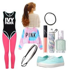 """""""80'S Workout"""" by orlahorses ❤ liked on Polyvore featuring STELLA McCARTNEY, Pin Show, Ivy Park, Chicnova Fashion, Cara, Victoria's Secret, Vans, NARS Cosmetics and Essie"""
