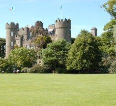 Malahide Castle has THE BEST PARK EVER :-)    Dublin - Temple Bar, Guinness Storehouse, Book of Kells - sitting in a pub with my bestie drinking half and half and going cat malogen! Sorry you hurt your foot, love!