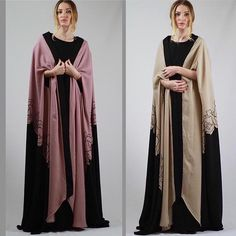 Abaya Cape by OC fashion design . Size free max Lenght 60'inches .