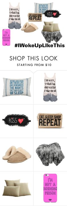 """""""Sleep"""" by air-bear-disigns ❤ liked on Polyvore featuring Rut&Circle, P.J. Salvage, UGG Australia and Elements"""