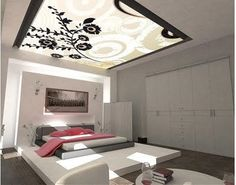 Best Beds and Bedrooms Interior Designs: Vector Art Inspired Modern Style Bedroom