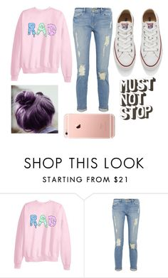 """""""Untitled #107"""" by misanthropic1123 ❤ liked on Polyvore featuring Frame Denim and Converse"""