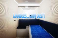 Lounges low cost all'aeroporto di Bergamo.