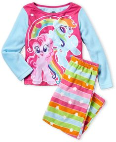 My Little Pony Girls Character Print Shirt and Pant Set My Little Pony Dolls, My Lil Pony, My Little Pony Coloring, My Little Pony Merchandise, Bnf, Cute Girl Outfits, Cute Cartoon Wallpapers, Stripe Print, Printed Shirts