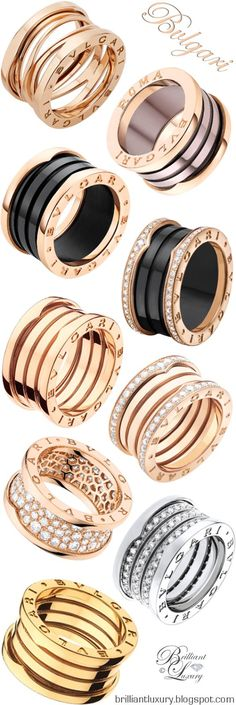 Brilliant Luxury ♦️ Bvlgari B.Zero1 Rings UDATED