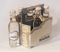 Almost Heaven Beer Packaging by Ashley Bryant, via Behance