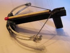 MINI CROSS BOW (4-Day Elective): make a Mini Cross Bow using safe materials.