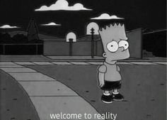bart simpson out of body experience Simpsons Quotes, Cartoon Quotes, The Simpsons Tumblr, Eleven Paris, Grunge, Alex Turner, Simpson Wave, Los Simsons, Sad Wallpaper