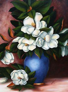 Glass Art on canvas Art Floral, Magnolia Paint Colors, Peacock Wall Art, Fruit Painting, Magnolia Flower, Plant Illustration, Art Moderne, Canvas Art Prints, Canvas Canvas