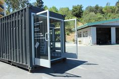 Shipping Container Shops | Restored shipping containers, like this one, will have pop-up shops ...