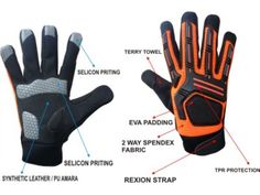High End Mechanic Mechanic Gloves, Terry Towel, Fabric, Leather, Tejido, Tela, Fabrics, Tejidos