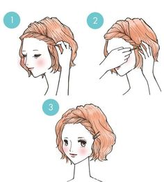 how to deal with your hair bangs if too short or too long/ 9