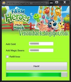 Get an unlimited amount of items using this free cheat tool for Farm Heroes Saga