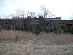 Pharoah High School   Abandoned Oklahoma