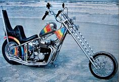 Love the old school chopper... But reminds me of just How Old I am...