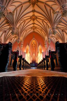 visiting old cathedrals..    In old churches & cathedrals they were purposefully built with one thing in mind.. to point your worship towards God.